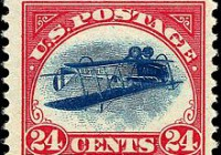 US_Airmail_inverted_Jenny_24c_1918_issue1