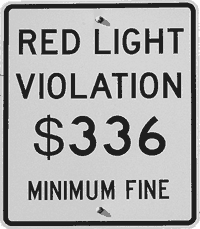 Red Light Violation