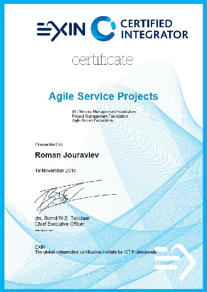 Agile Service Projects