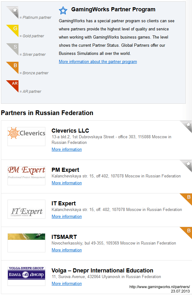 gamingworks partners russia